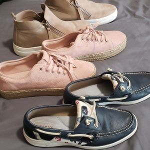 Final price Bundle shoes,new & used..